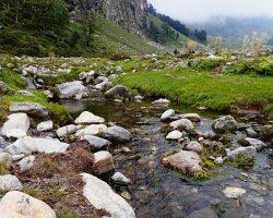 Picture taken from Hamta pass trek route